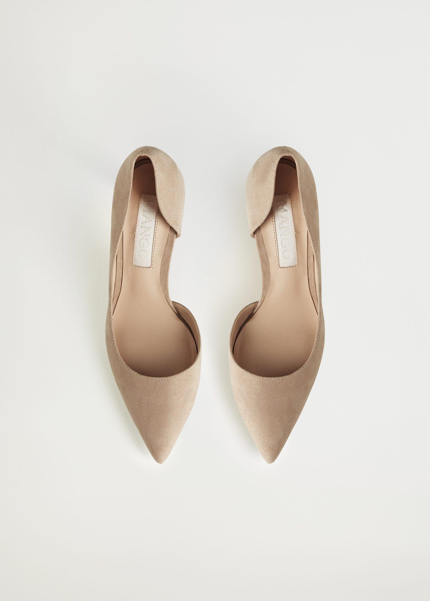 Zapato salón asimétrico Mujer | Mango España