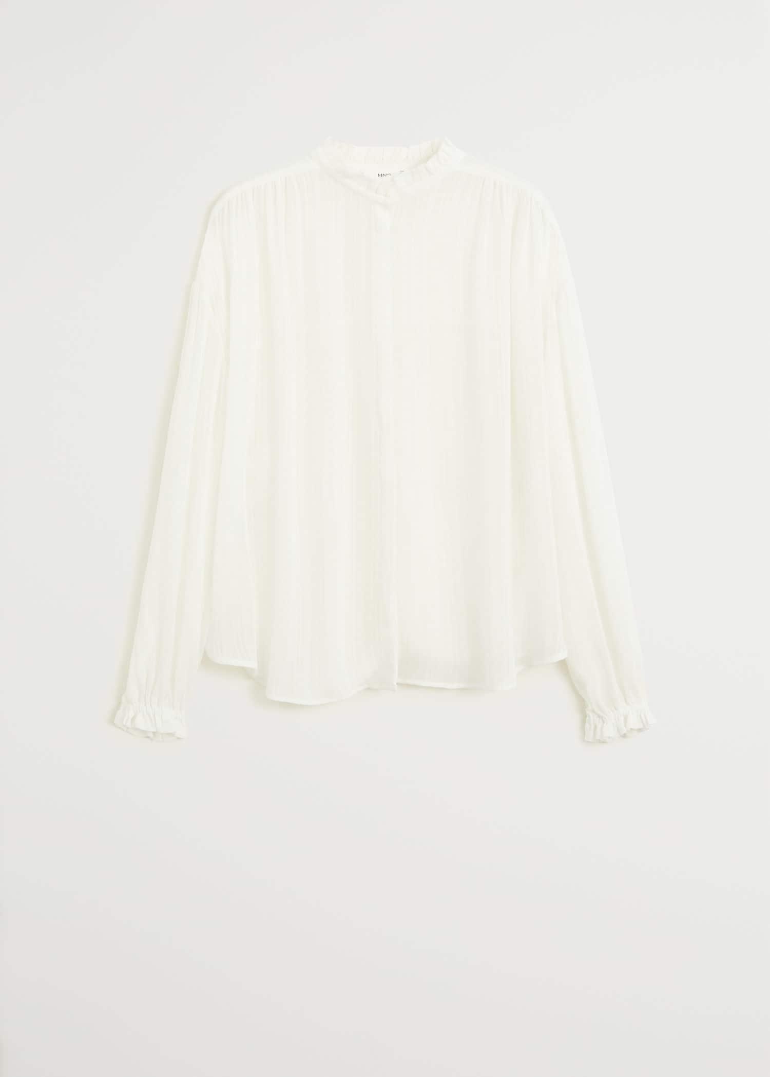H&M+ Blusa con cinturón MarrónEstampado de cebra MUJER