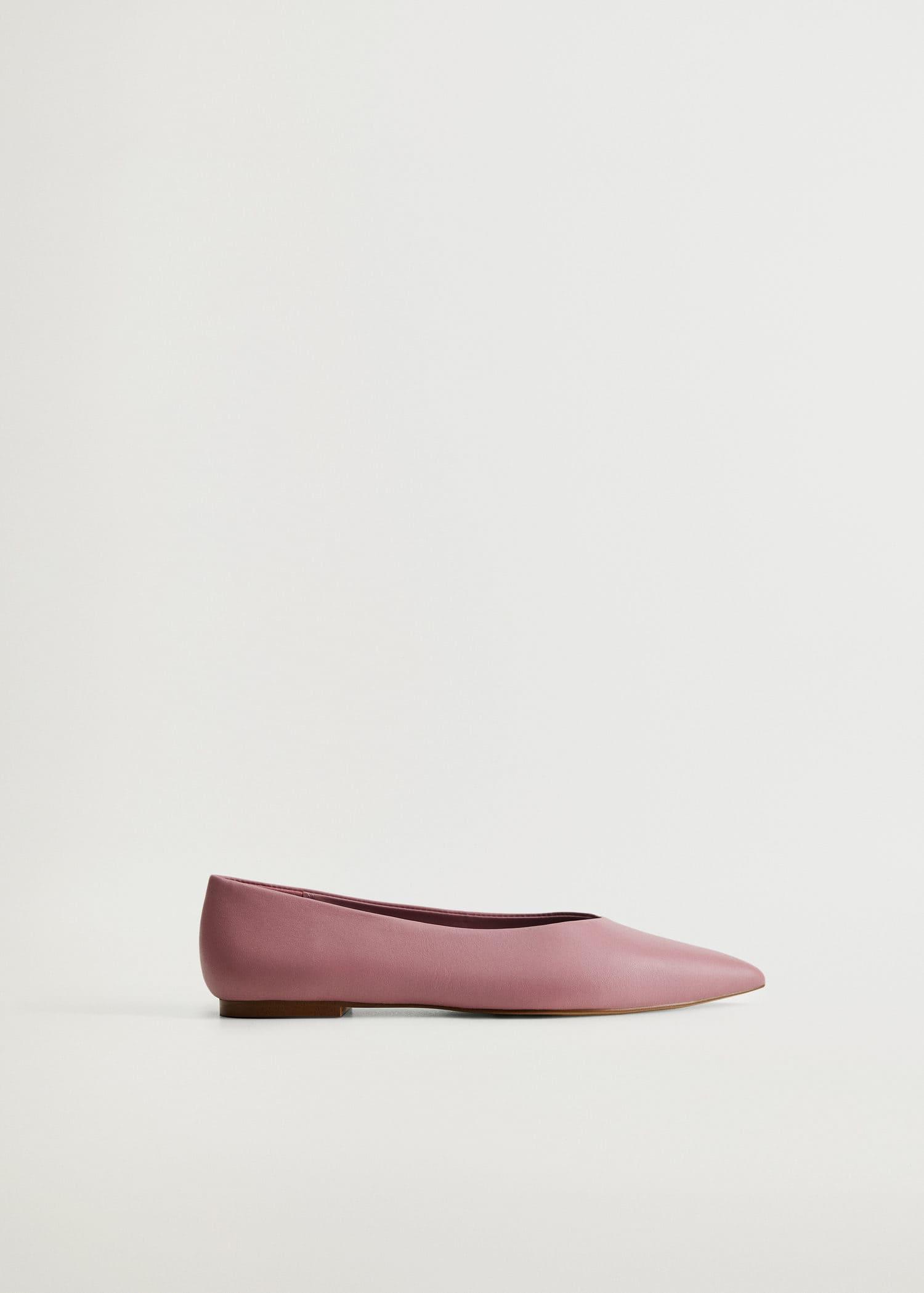 Flate sko med spiss tå Damer   OUTLET Norge