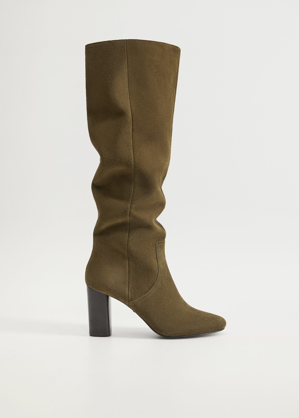 High-leg suede boots - Article without model