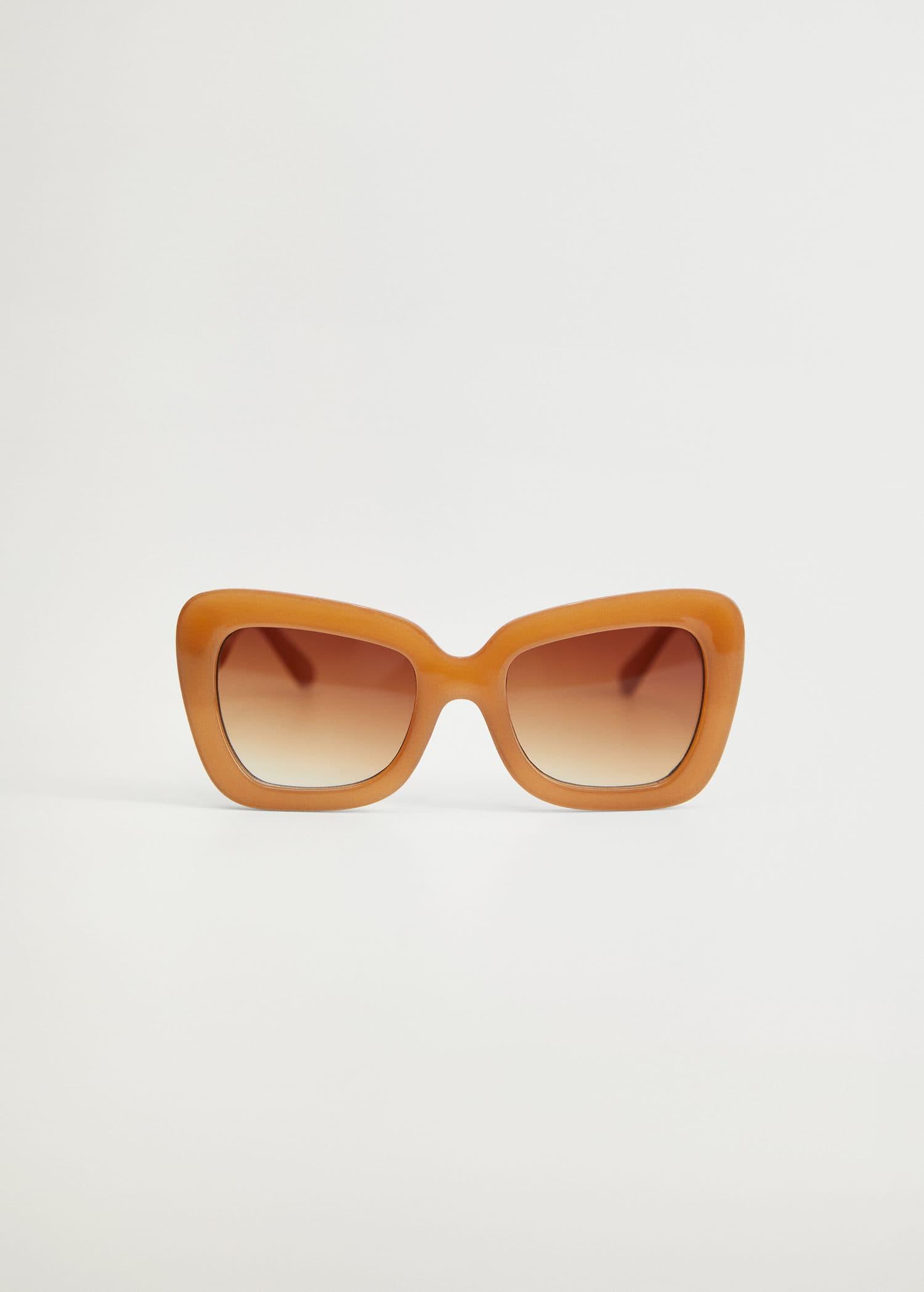 Gafas De Sol Montura De Pasta Tallas Grandes Violeta By Mango Usa