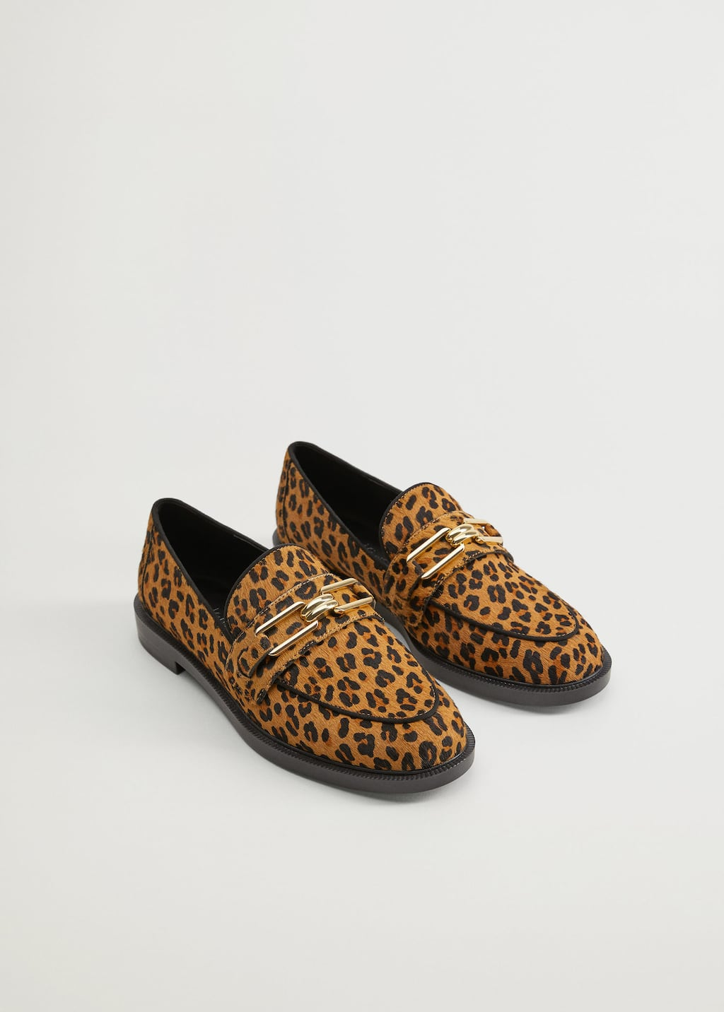 Link leather loafers - Medium plane