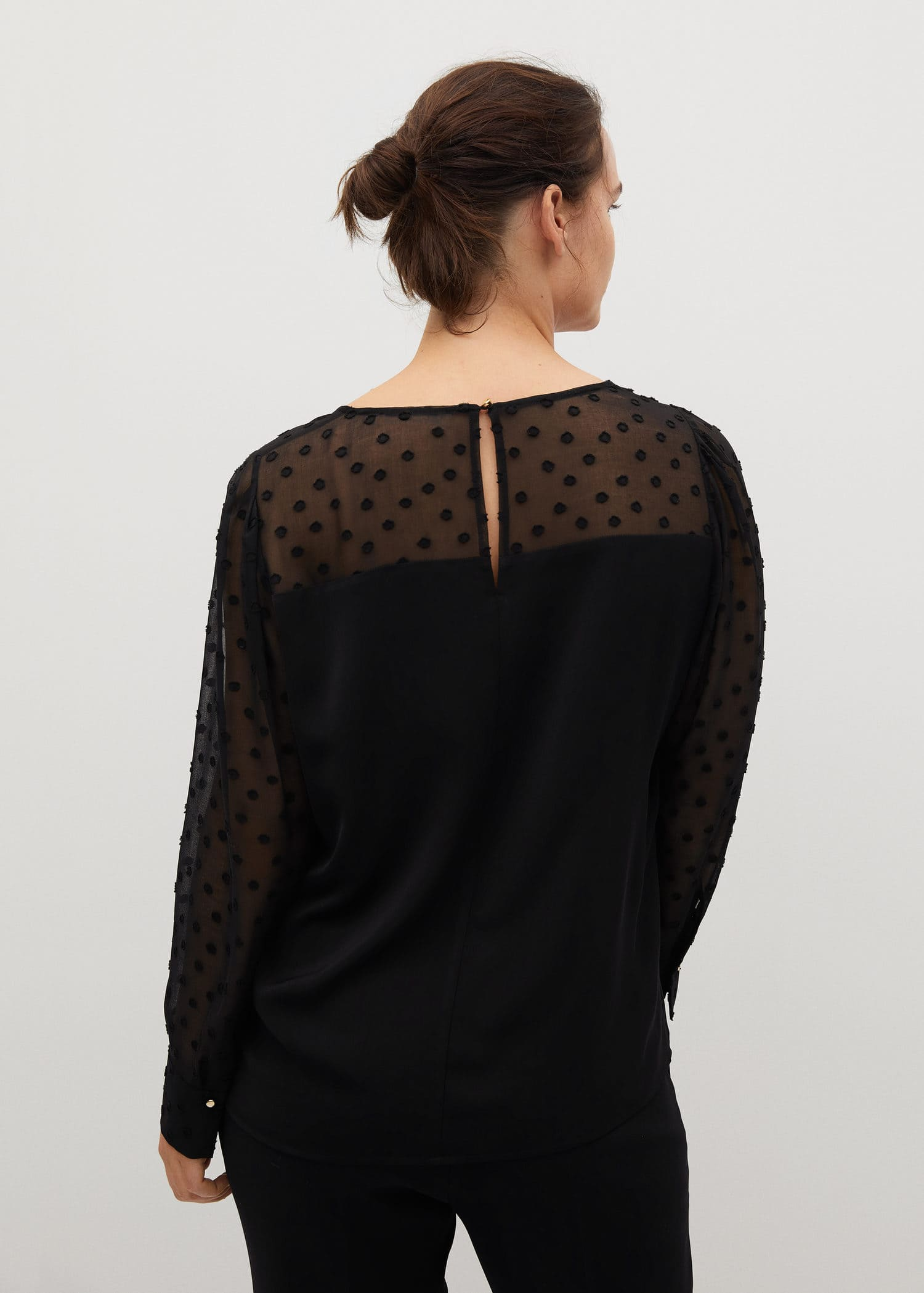 Camisas Tallas Grandes 2020 Violeta By Mango Espana
