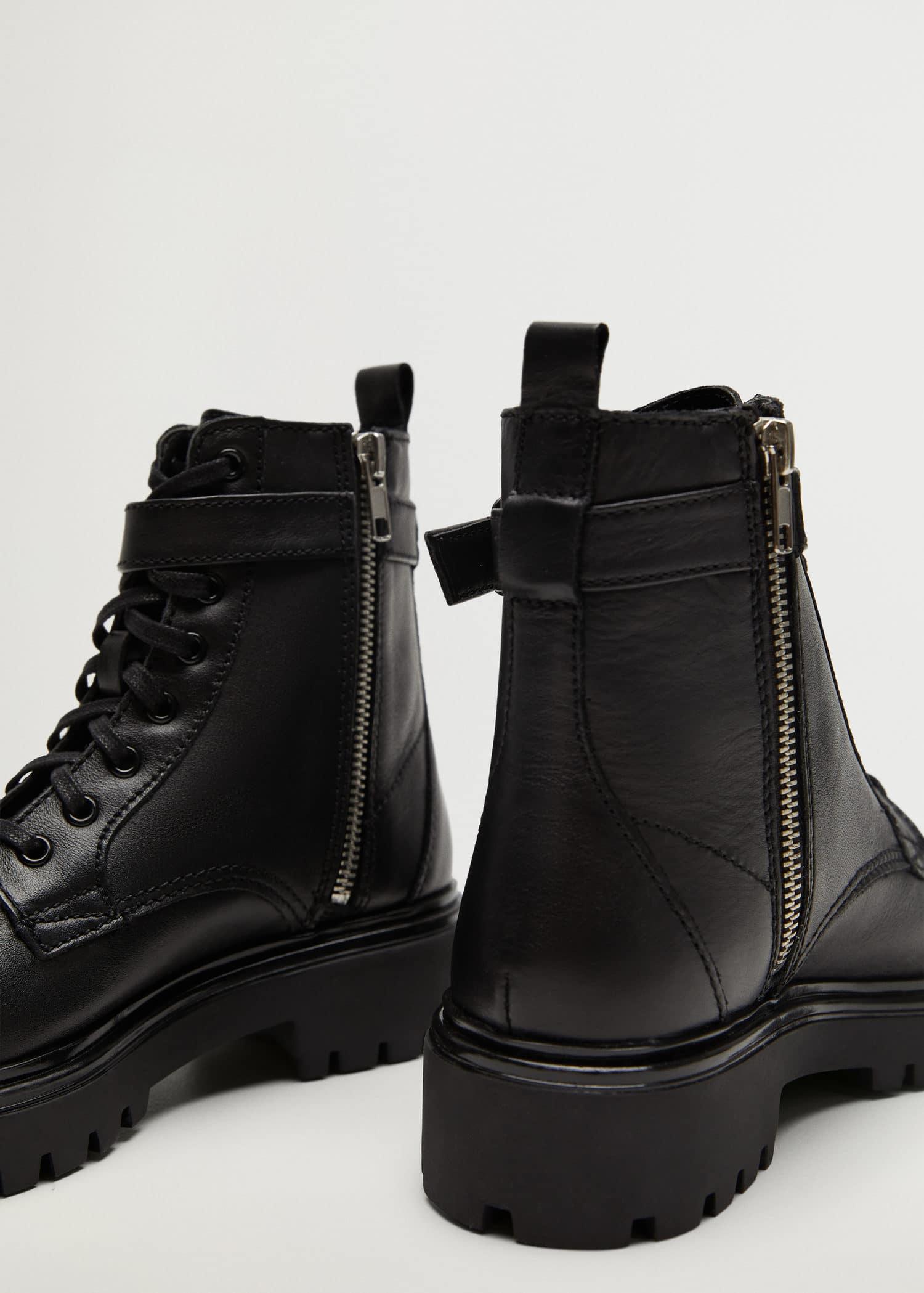 mango chaussures femme bottines