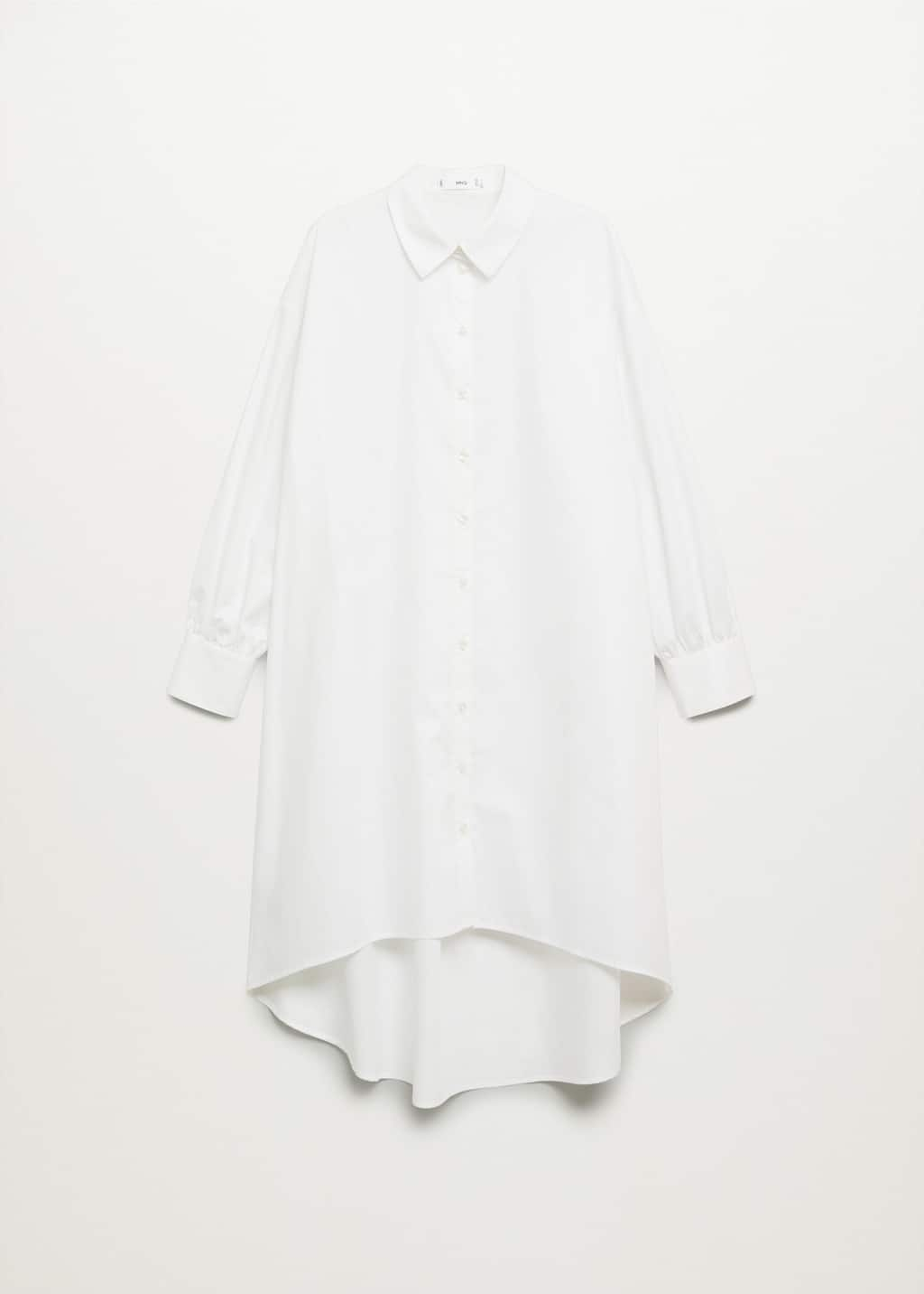 Cotton shirt dress   Woman   Mango Indonesia