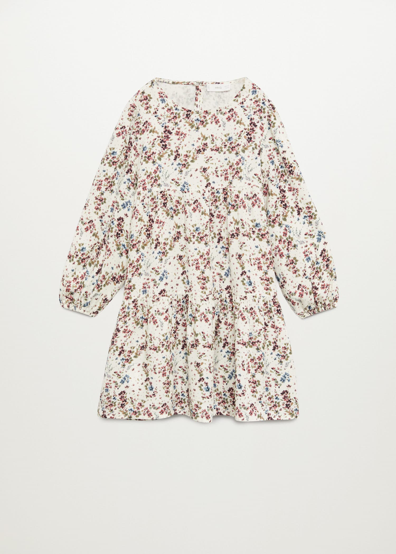 Flowy flower printed dress - Article without model