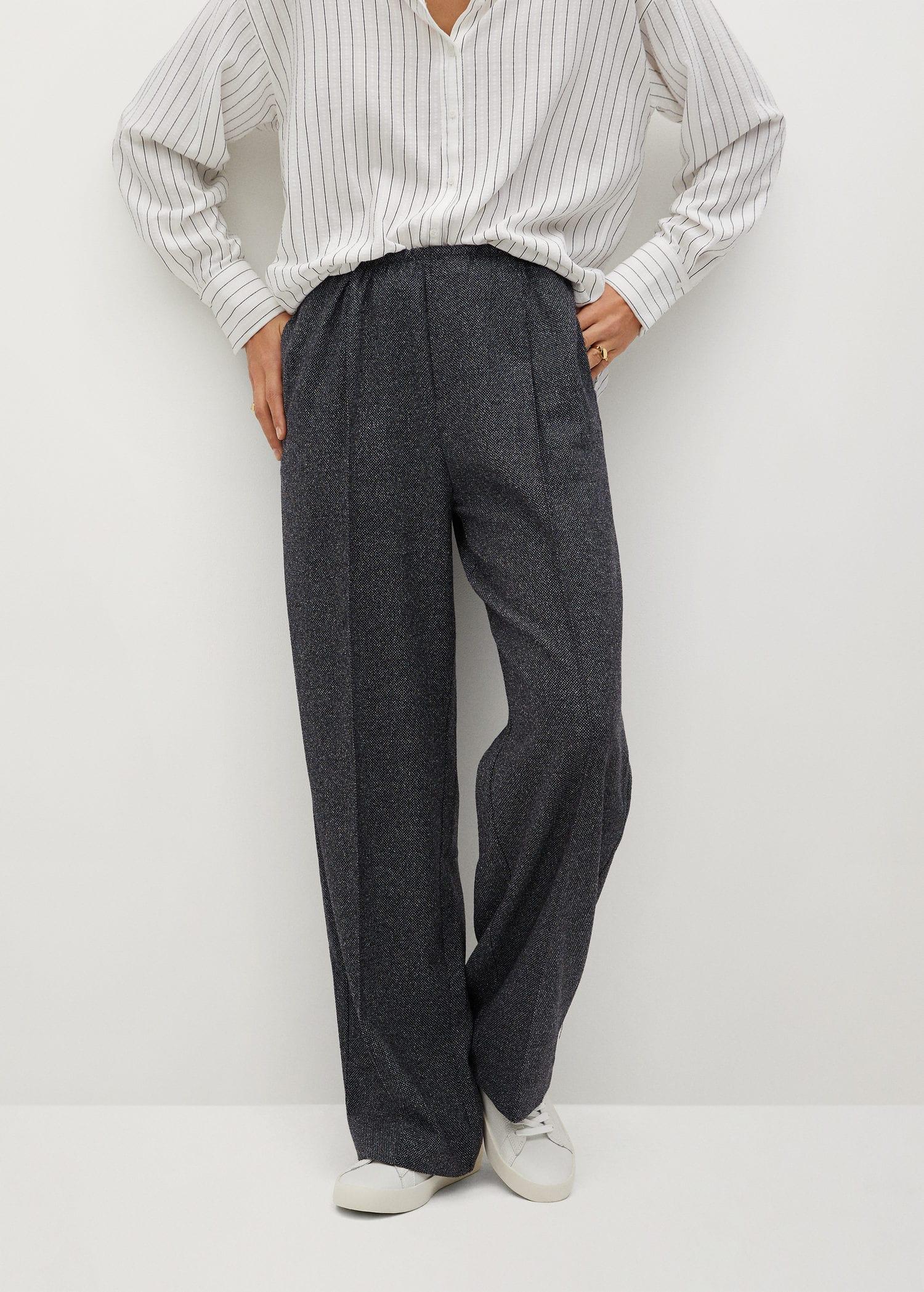 كمان كرسي المحرك Pantalones Vestir Mujer Mango Englishtoportuguesetranslation Com