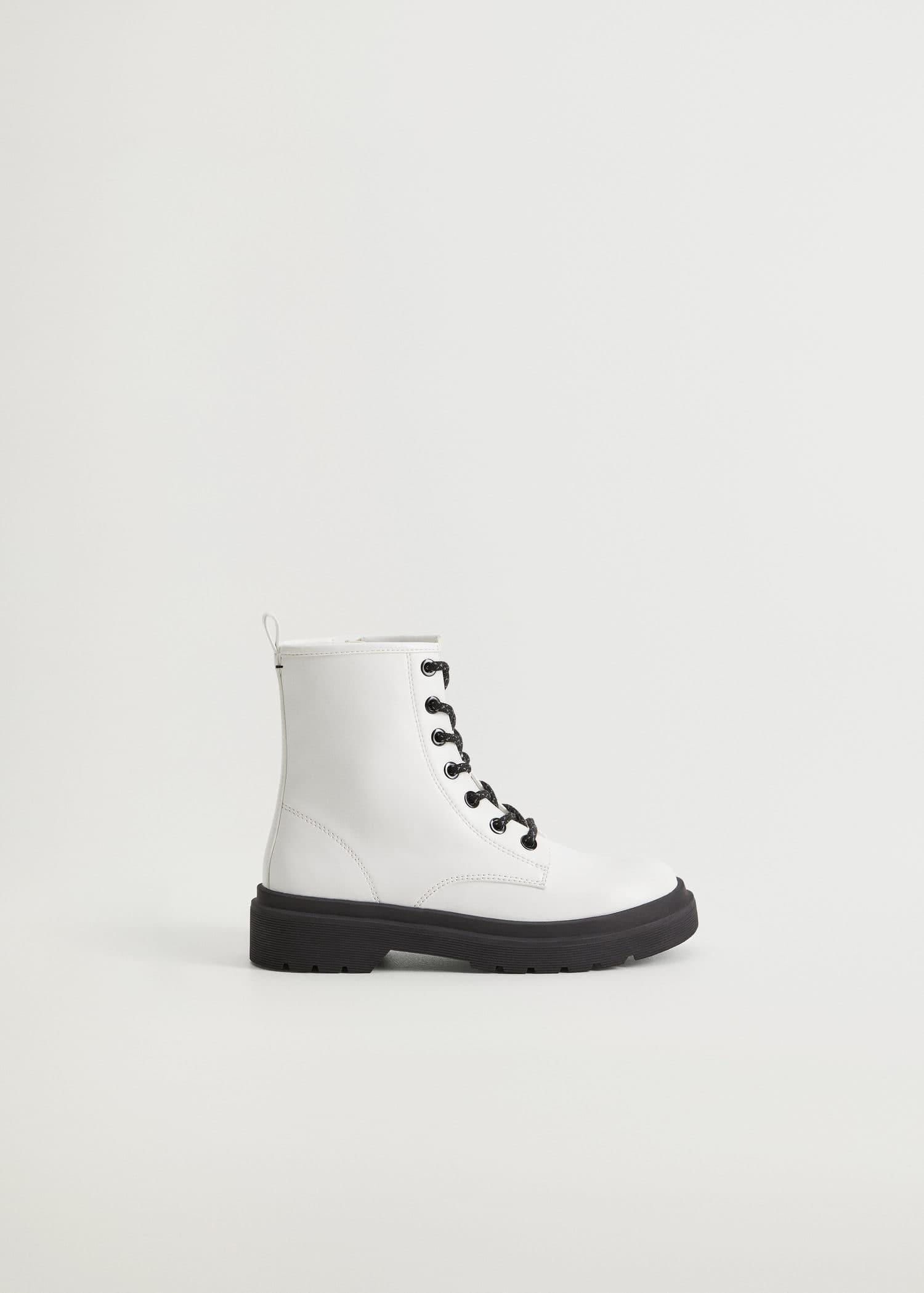 Lace-up boots - Girls | Mango Kids Kosovo