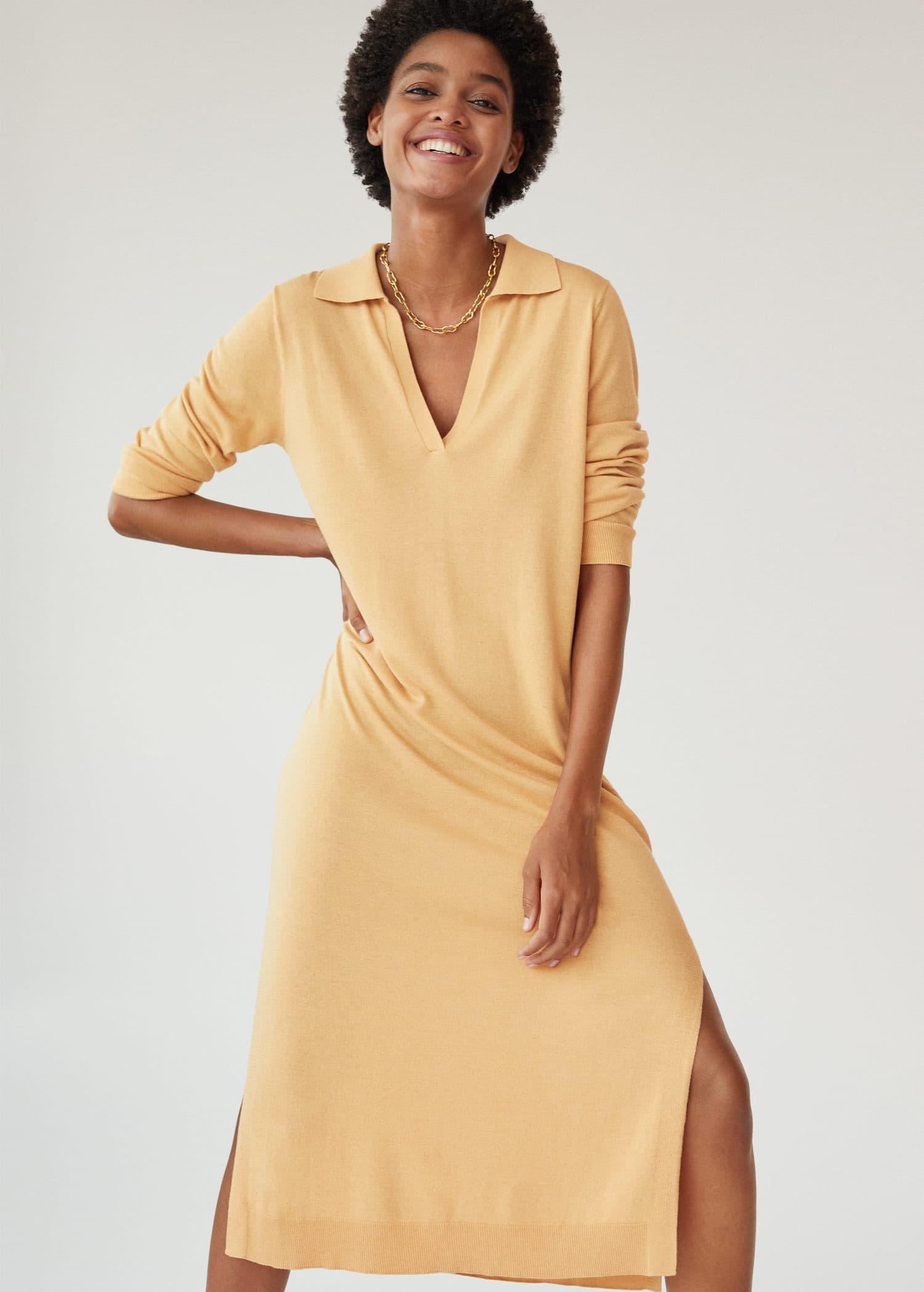 Robe Maille Femme Mango France