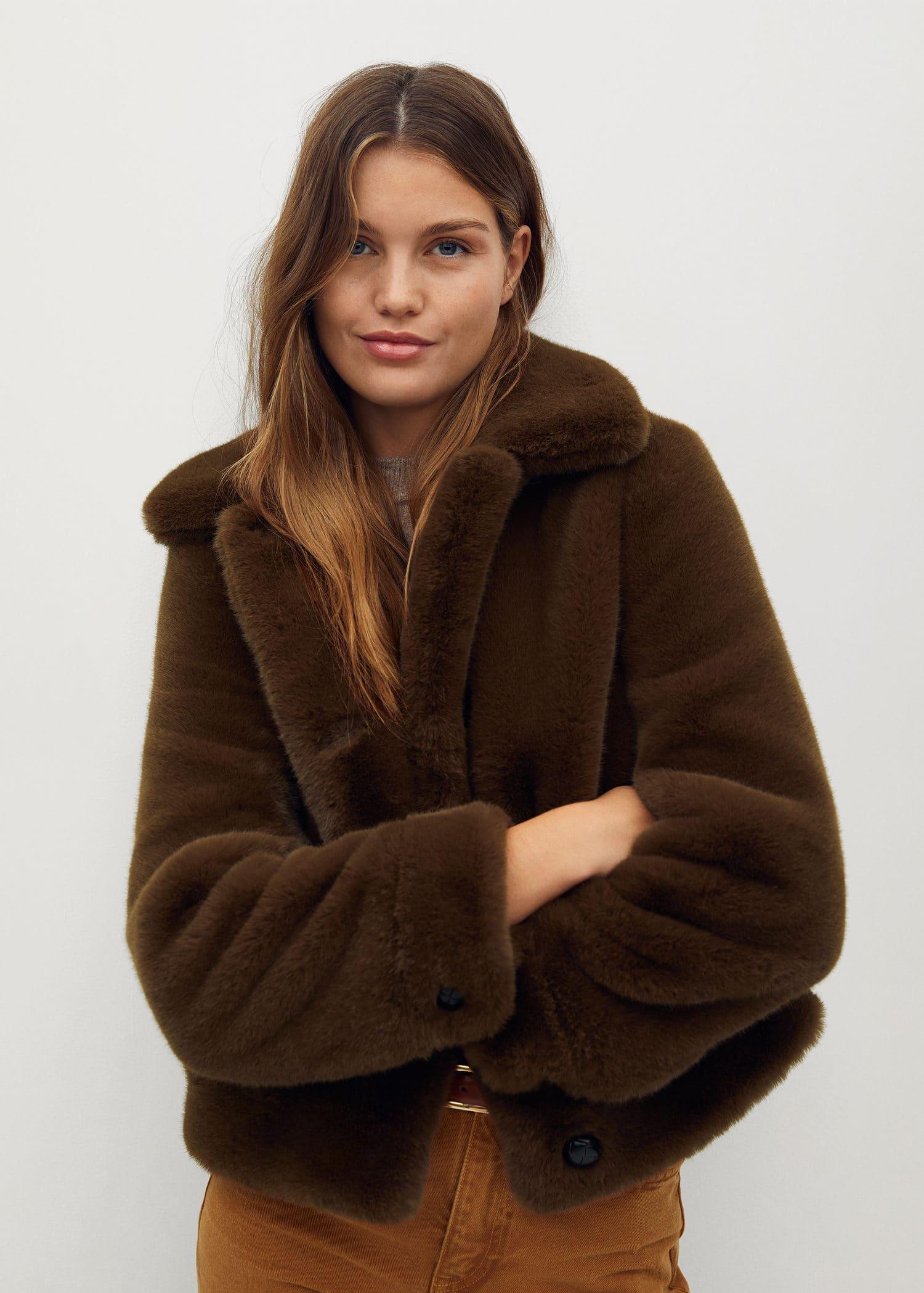 Faux fur jacket - Details of the article 1