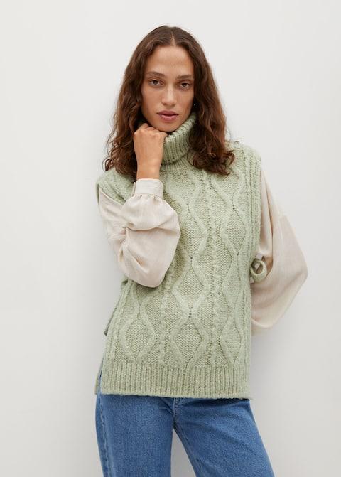 Turtleneck knit Gillet