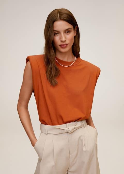 Shoulder pad t-shirt - Medium plane