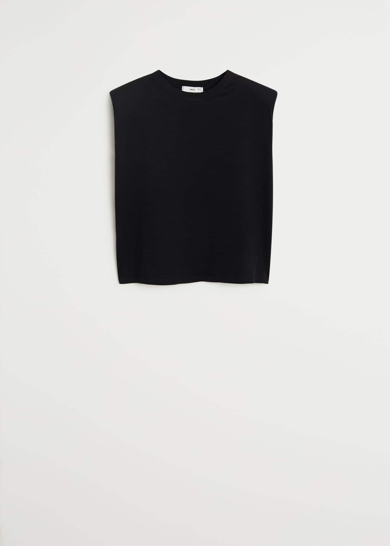 Camisa algodón sin mangas Mujer | Mango España
