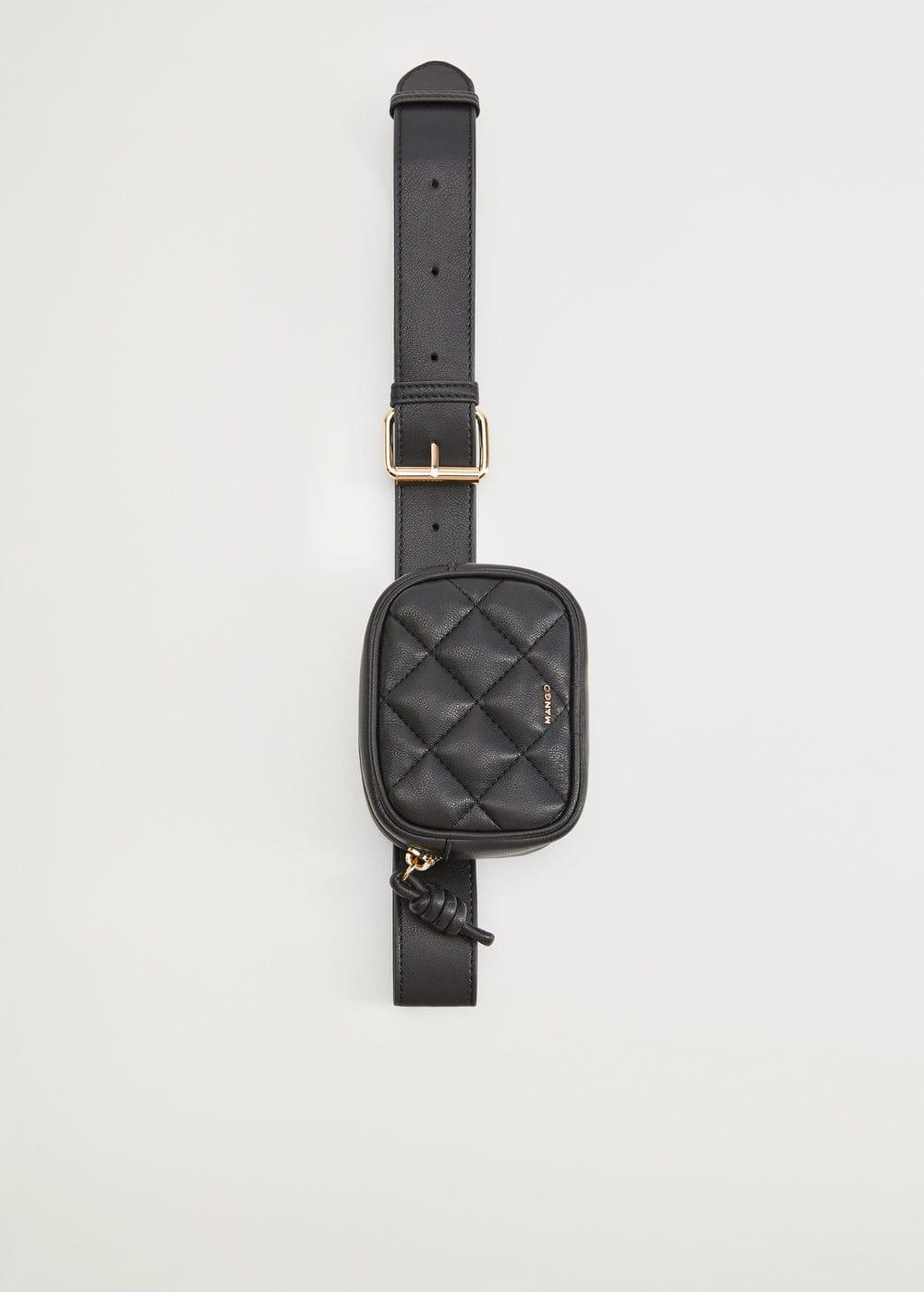 Quilted belt bag -  Women | Mango USA