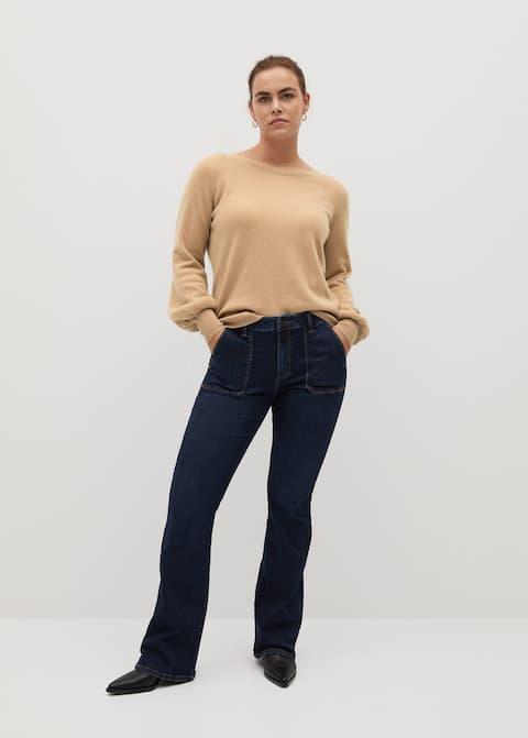 Zendaya bootcut jeans - General plane