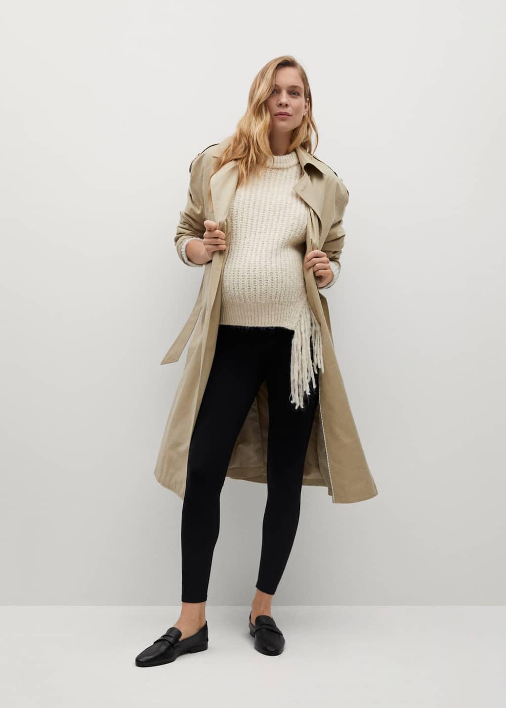 Legging coton Maternity - Plan général