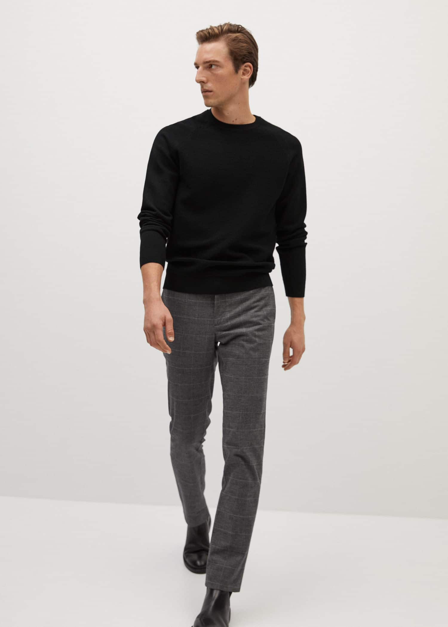 Striped structure sweater - General plane