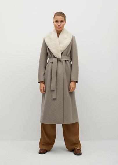Пальто из шерсти с цепочкой - Hilton