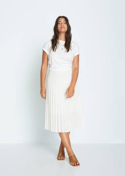 Плиссированная миди-юбка - Papel