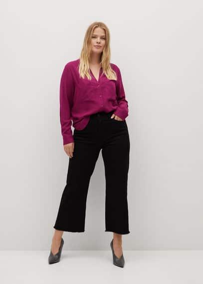 Струящаяся блузка с карманами - Ramos7
