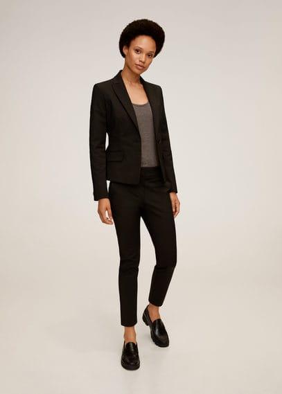 Костюмные брюки-дудочки - Cofi7-n