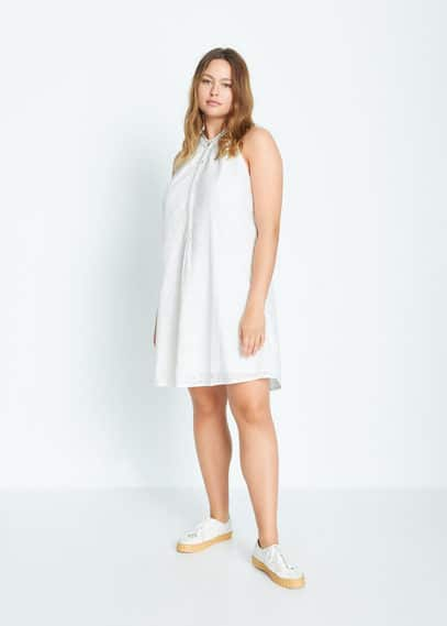 Платье с американской проймой - Trapecio-i