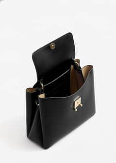 Flap tote bag - Woman | MANGO Bermuda