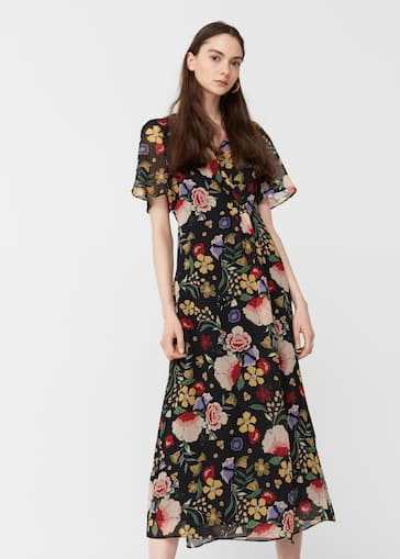 72790dcb8de7 Floral wrap dress - Women