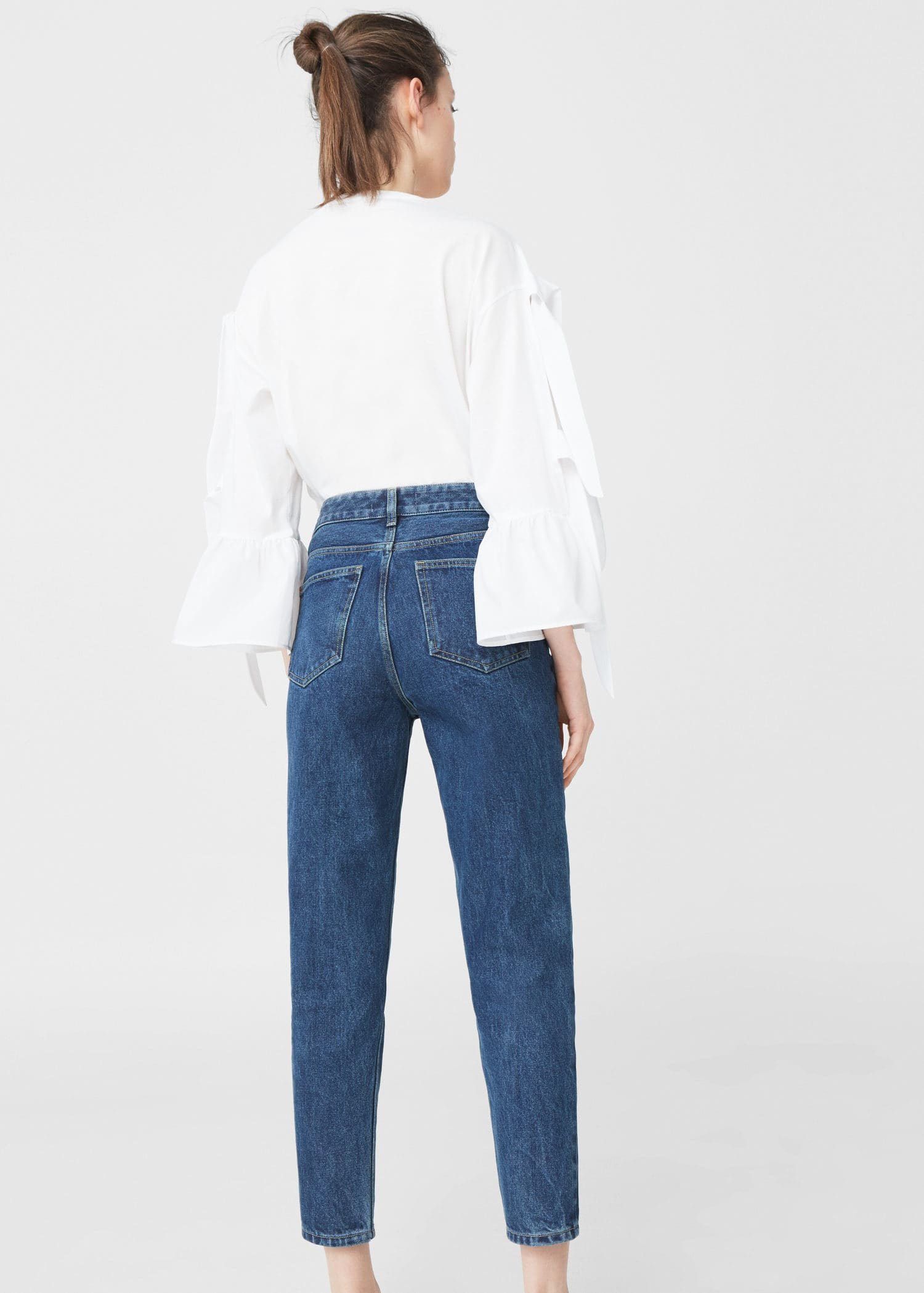 Relaxed fit jeans in 78 länge mom Damen | Mutter jeans