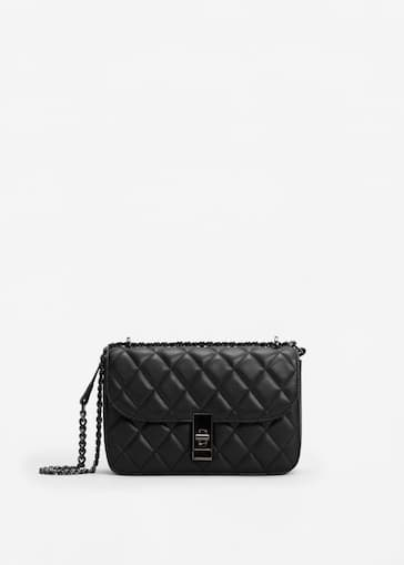 69a0ccae5 Quilted chain bag