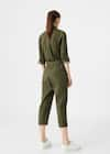 feaaa275f7f Cropped cotton jumpsuit - Woman