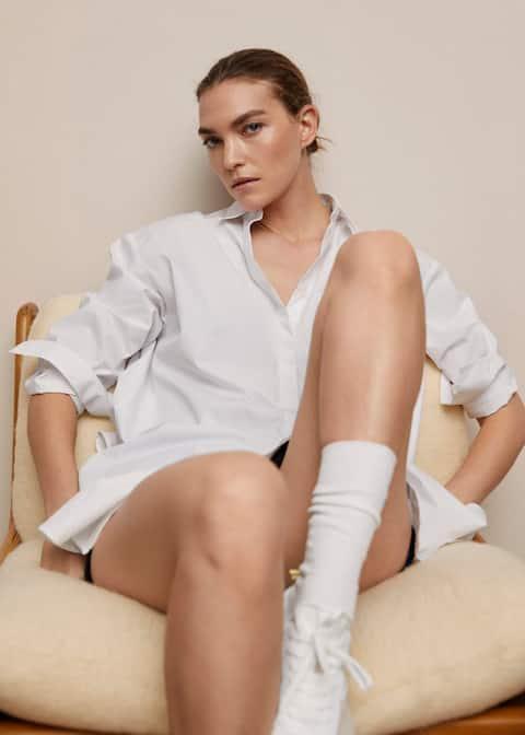 Camicia oversize popeline - Dettaglio dell'articolo 5