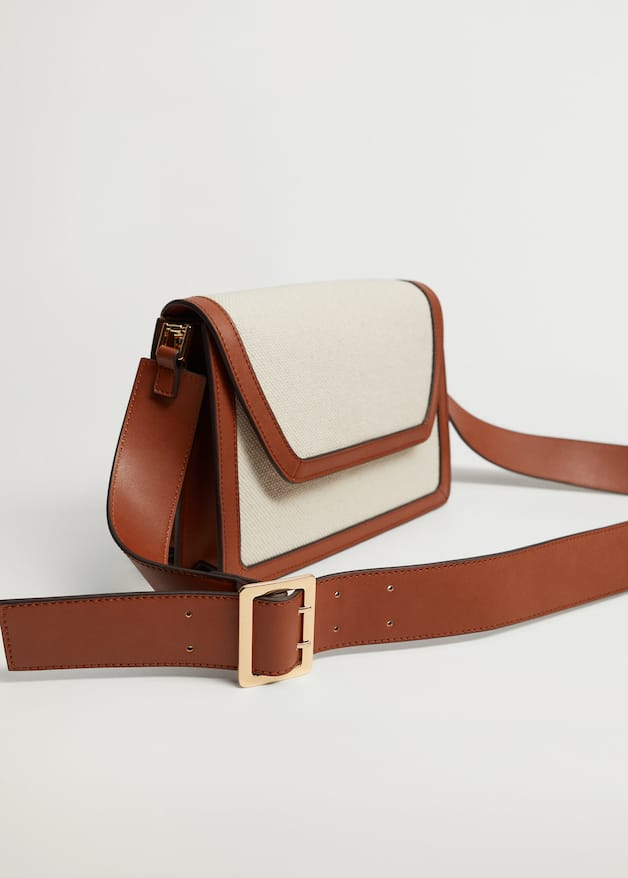 Fabric contrast bag - Details of the article 3