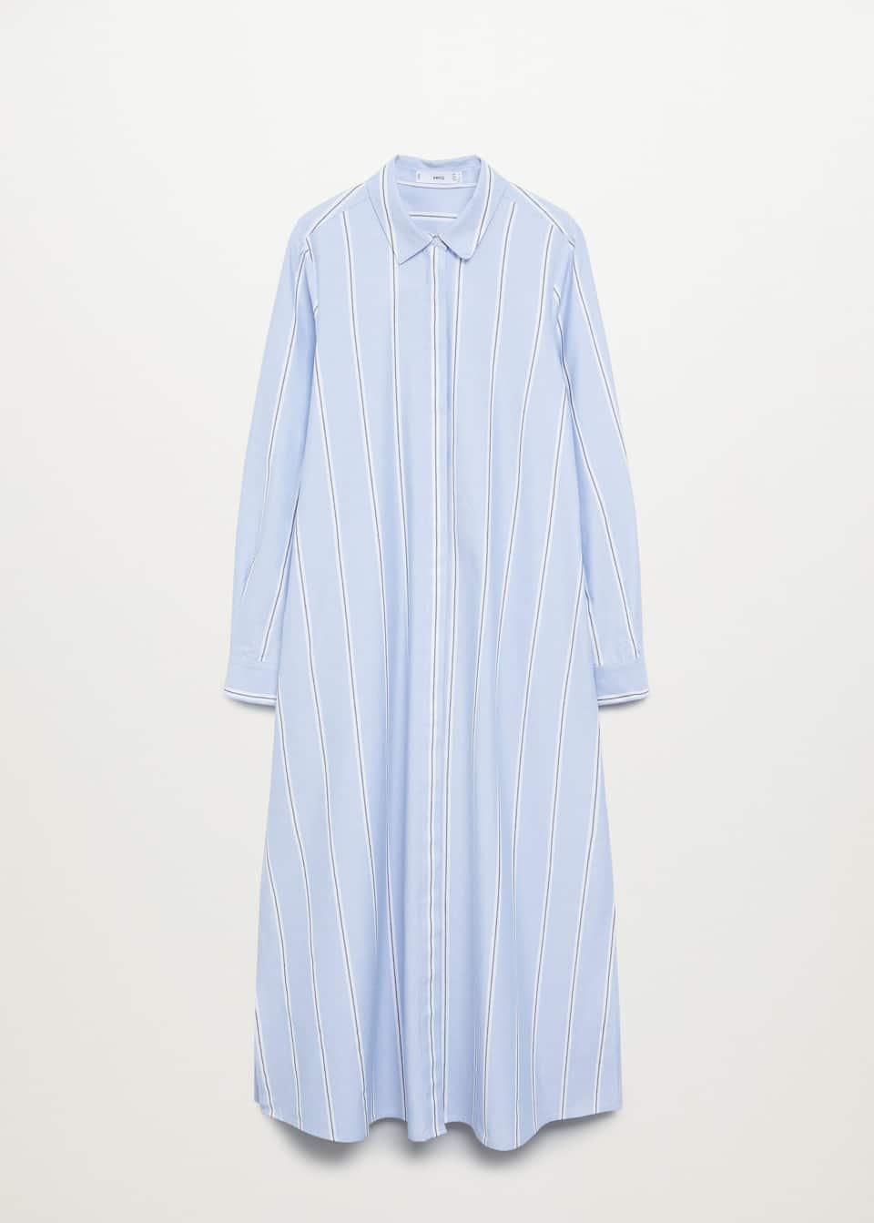 Poplin shirt dress   Woman   Mango Bulgaria