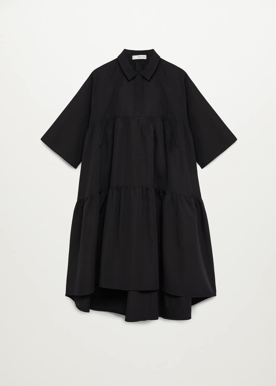 Oversize shirt dress   Woman   Mango Bermuda