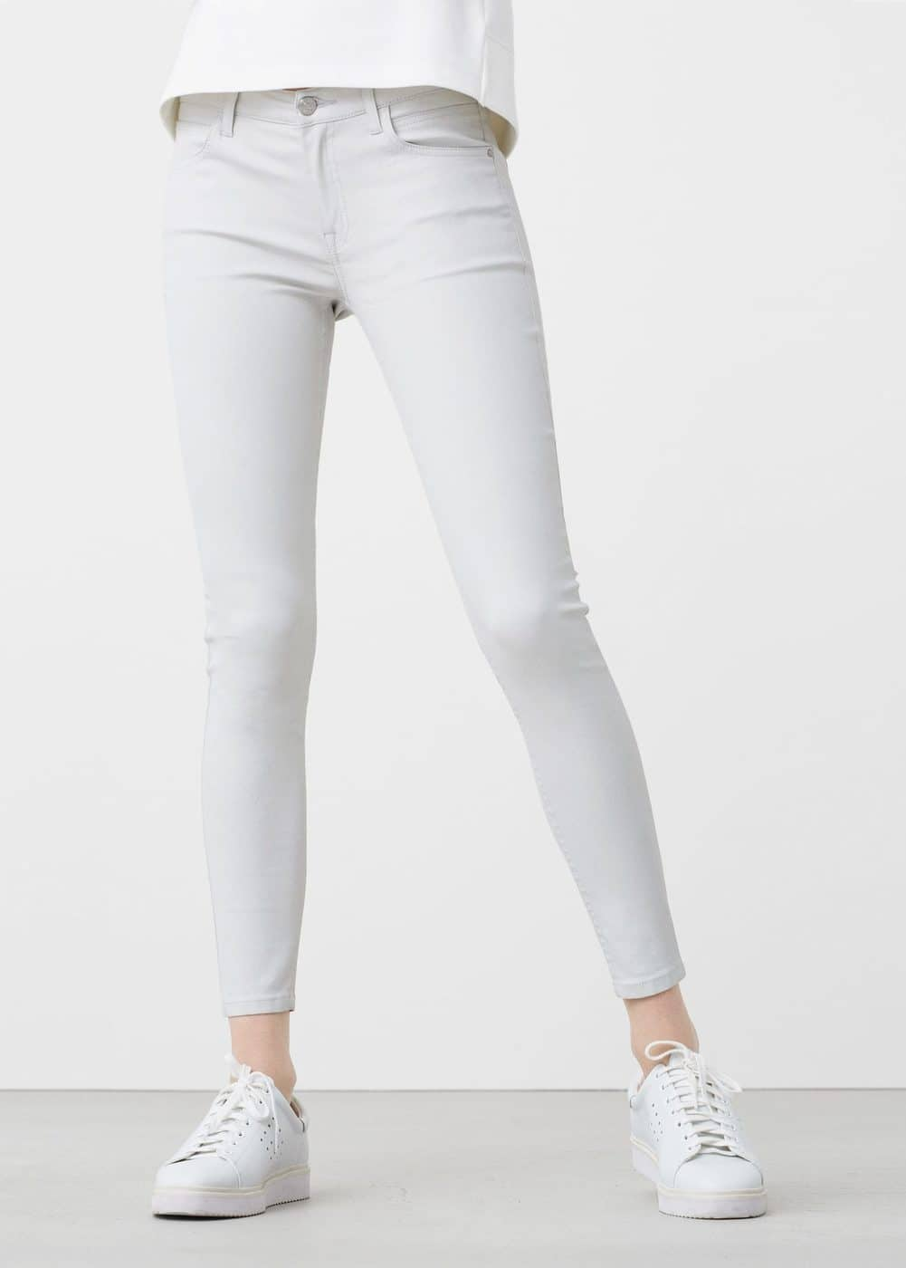 Waxed skinny belle jeans | MNG