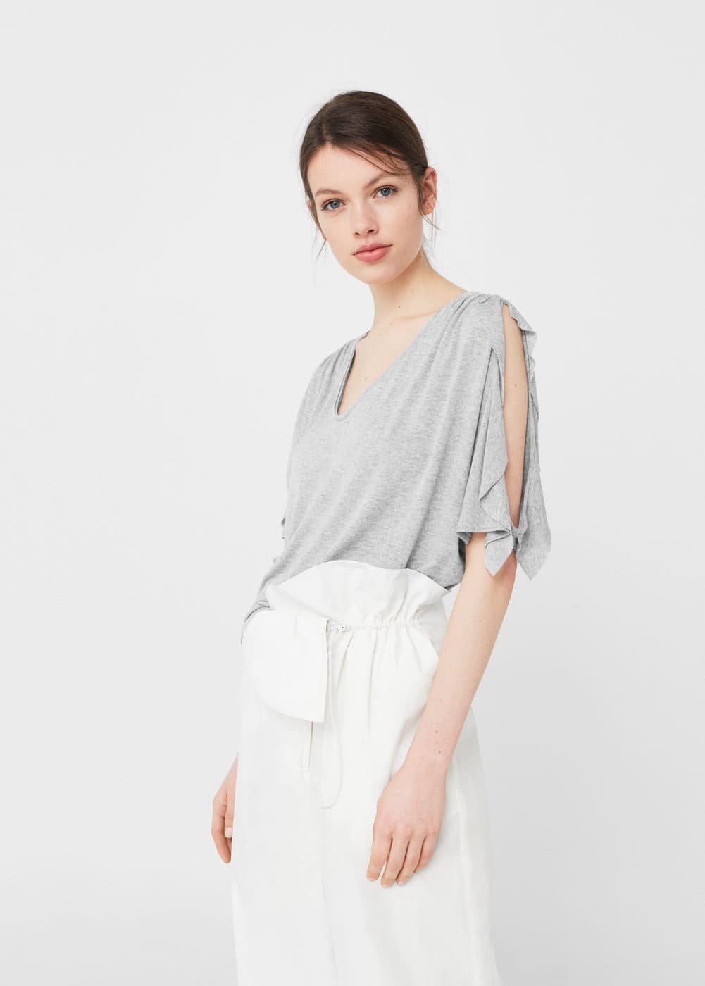 Off shoulders t-shirt | MNG