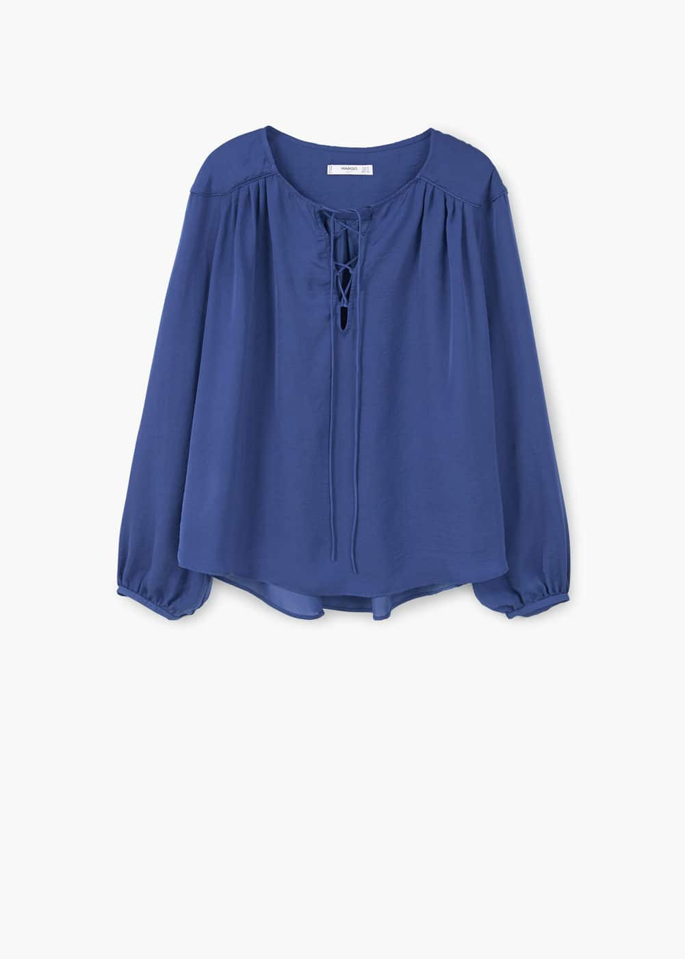 Braided cord blouse | MANGO