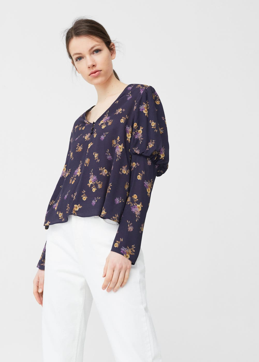 Floral print blouse | MNG