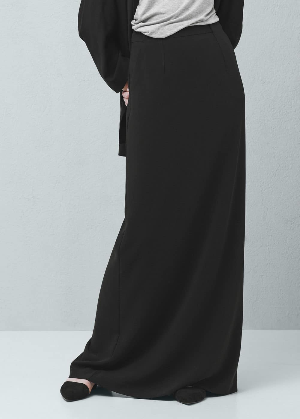 Belt long skirt | MNG