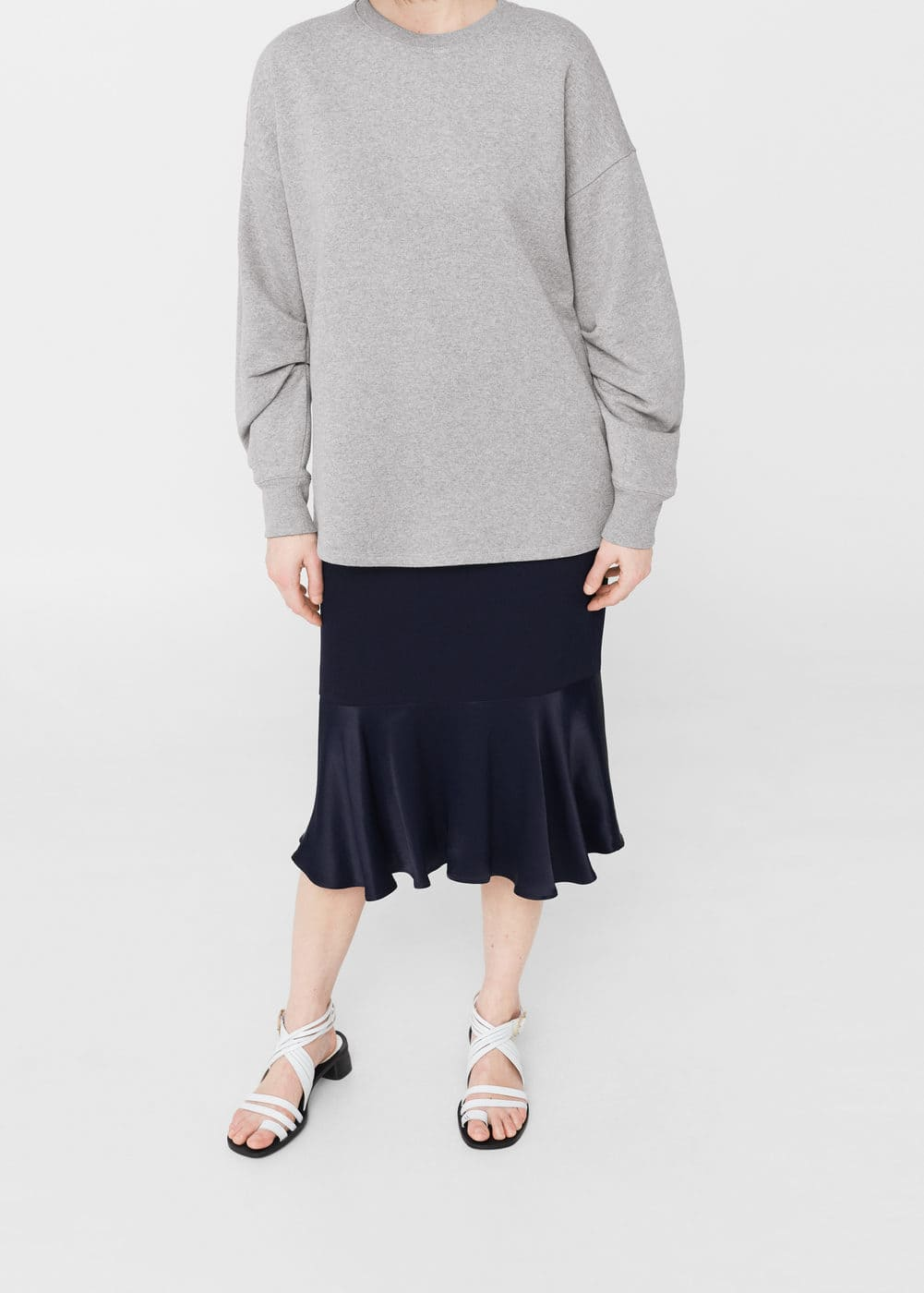 Puffed sleeves sweatshirt | MNG
