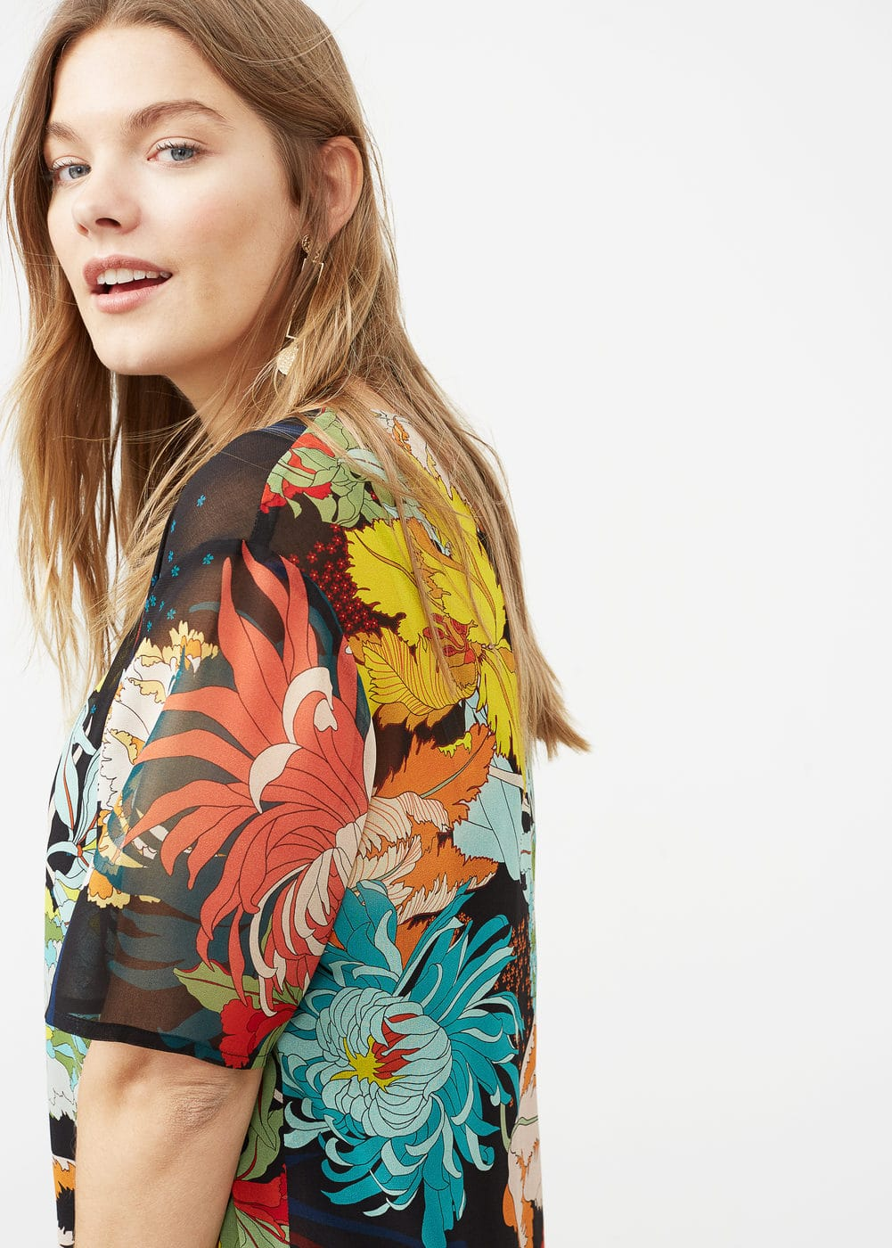 Floral print dress | VIOLETA BY MANGO