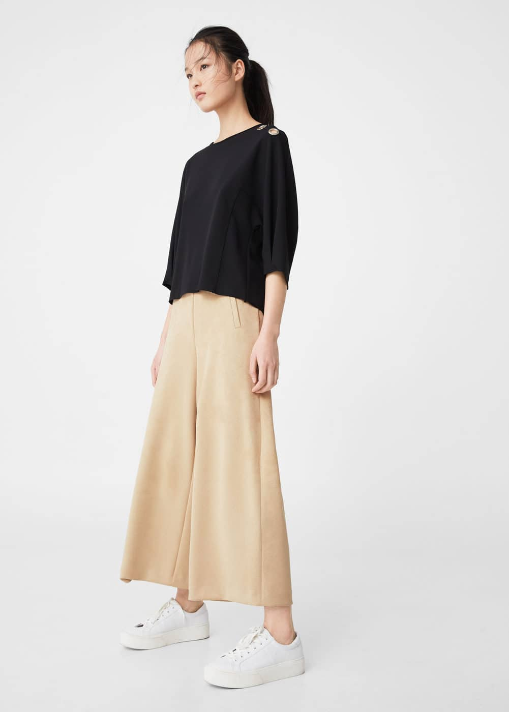 Palazzo trousers | MNG