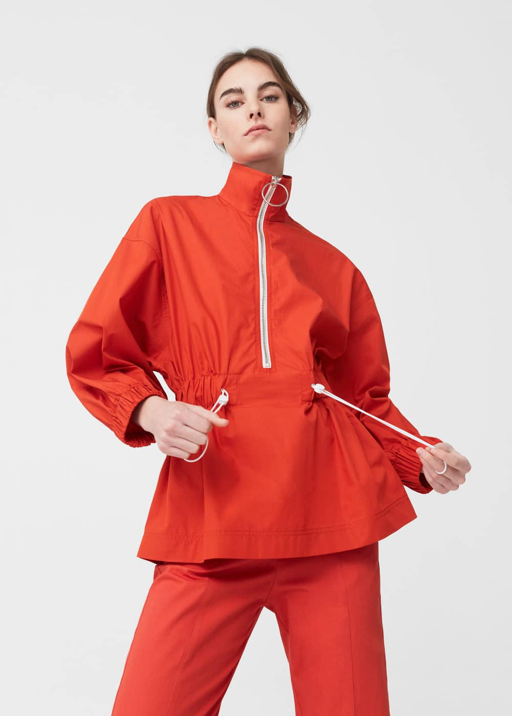Impermeable blouse | MANGO