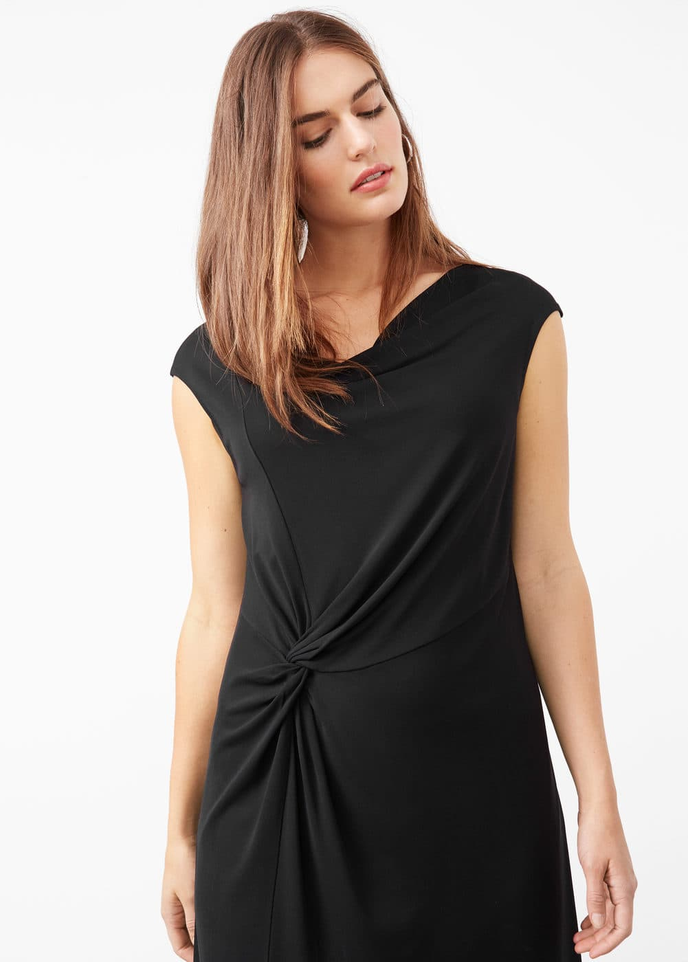 Wrapped acetate gown | VIOLETA BY MANGO