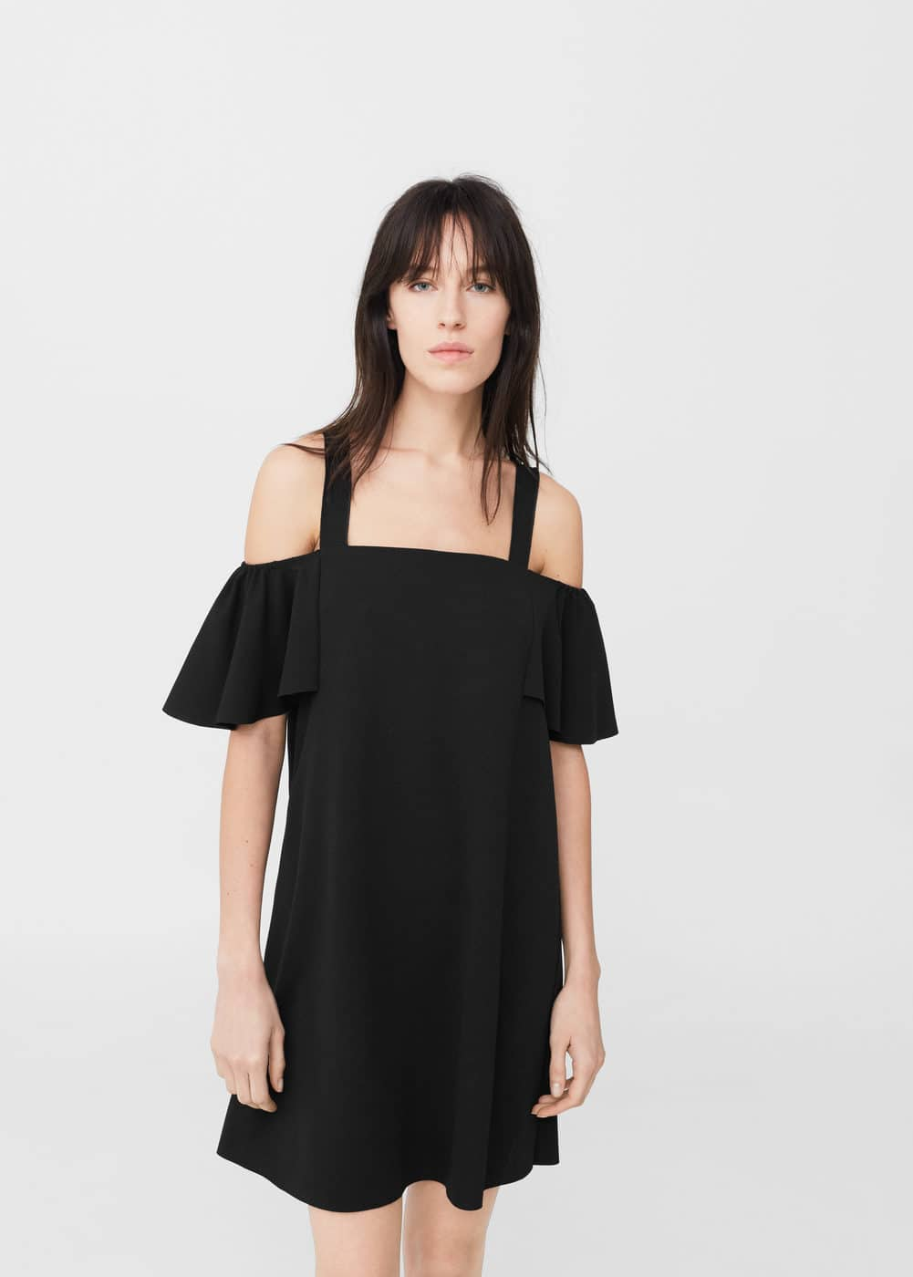 Vestit off-shoulder | MANGO