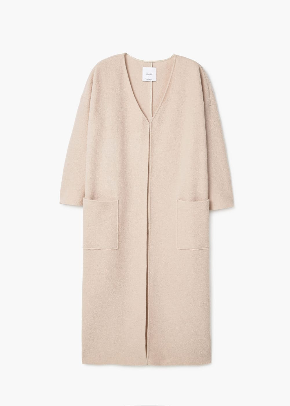 Oversize wool coat | MANGO