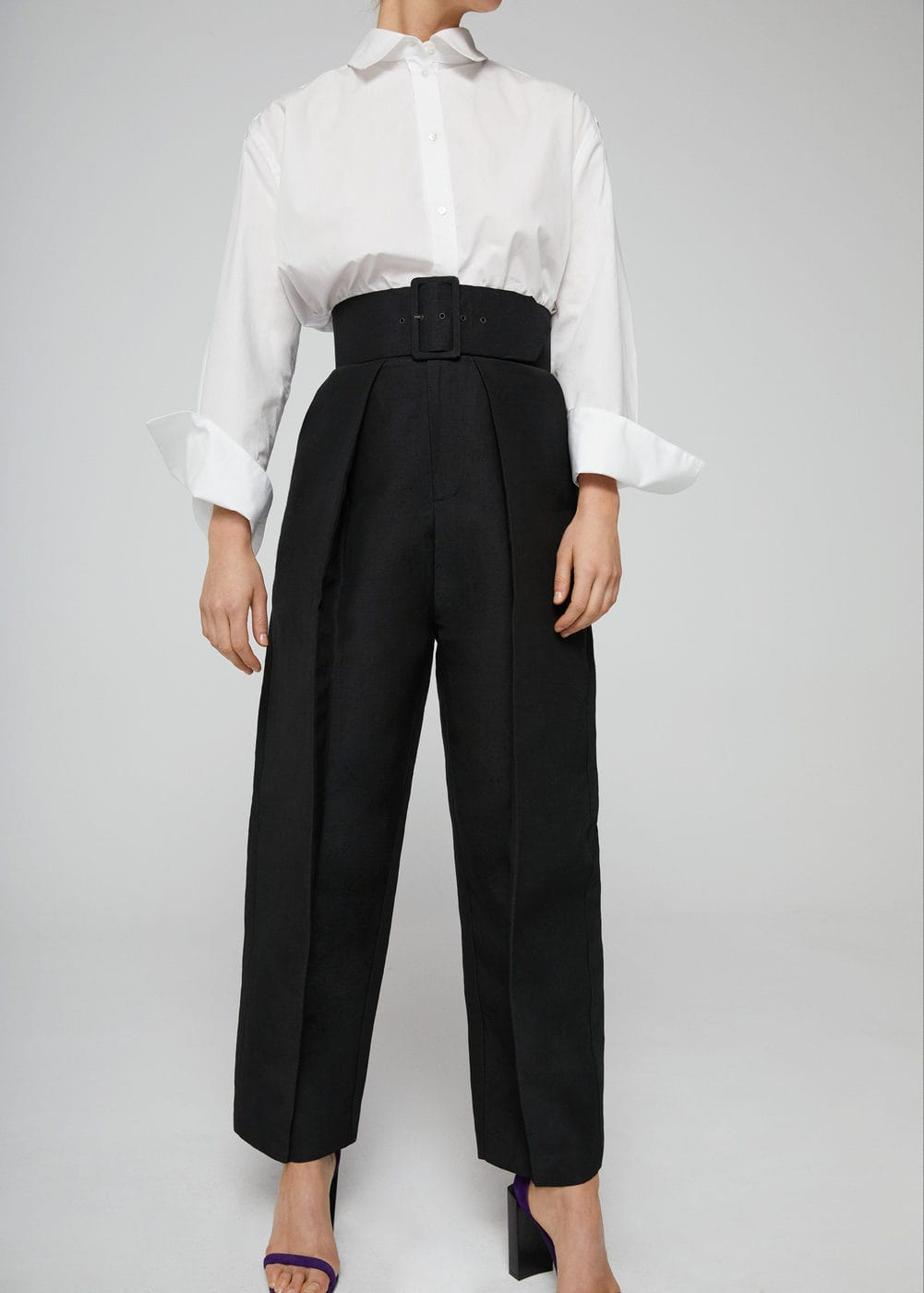 Belt line trousers | MNG