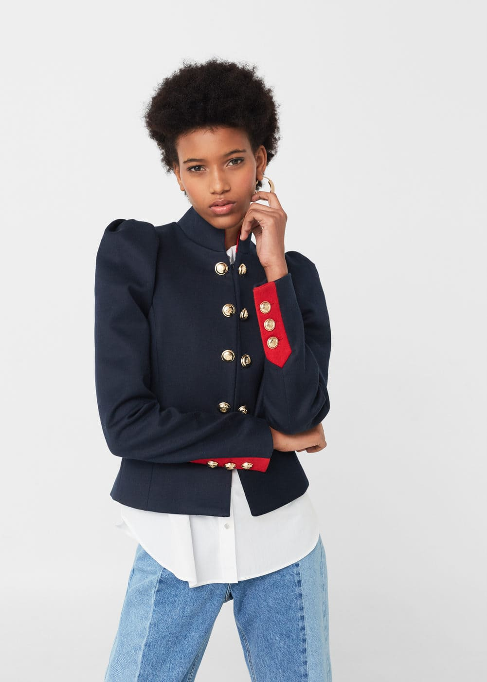 Military-style jacket | MNG