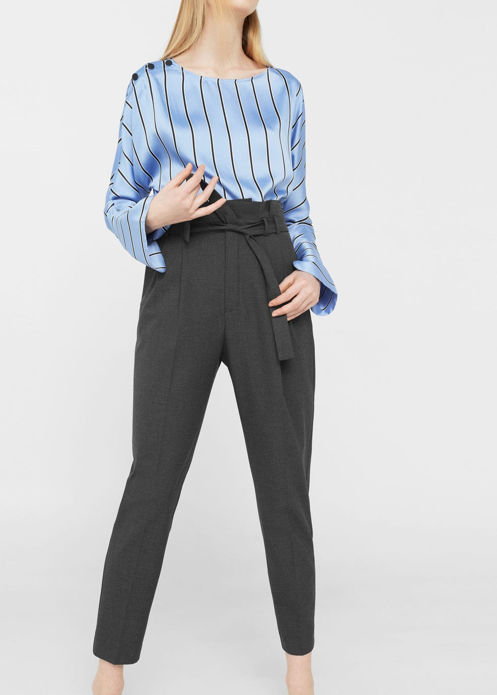 Bow belt trousers | MNG